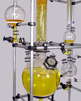 Borosilicate glass distillation Unit_ablaze1