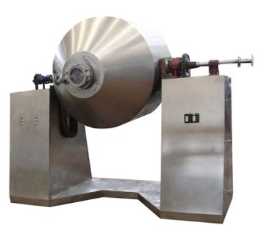 Glass lined rotary conical vacuum dryer_ablaze