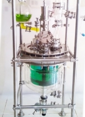 computer controlled batch reactor unit