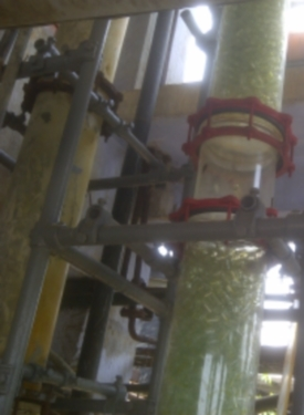 sulphuric acid concentration plant_ablaze