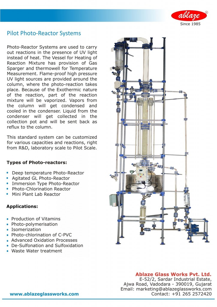 Pilot Photo - Reactor Systems